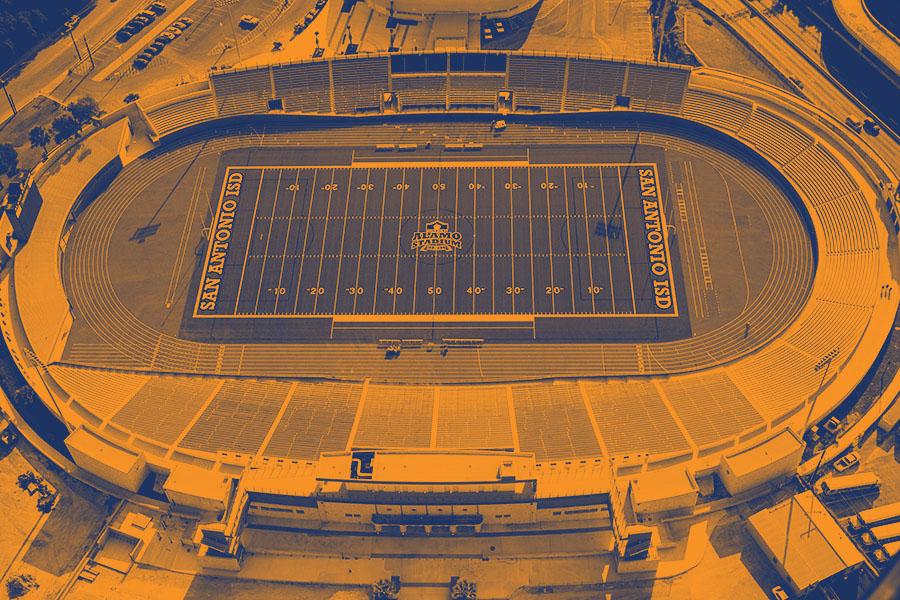 Alamo Stadium Paragon Track Surfacing